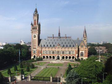 Dienstgebäude des Internationalen Gerichtshofs in Den Haag