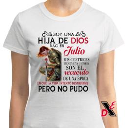 Playera Soy una hija de Dios