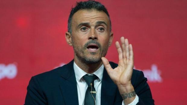 Luis Enrique regresó como director técnico de España