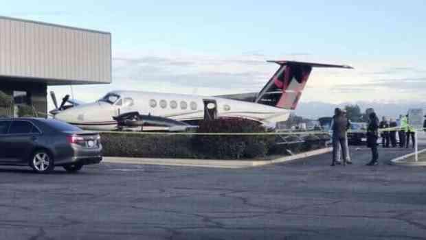 Adolescente roba avión y lo estrella en California