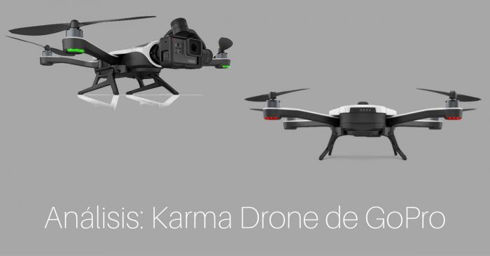karma drone de gopro analizado