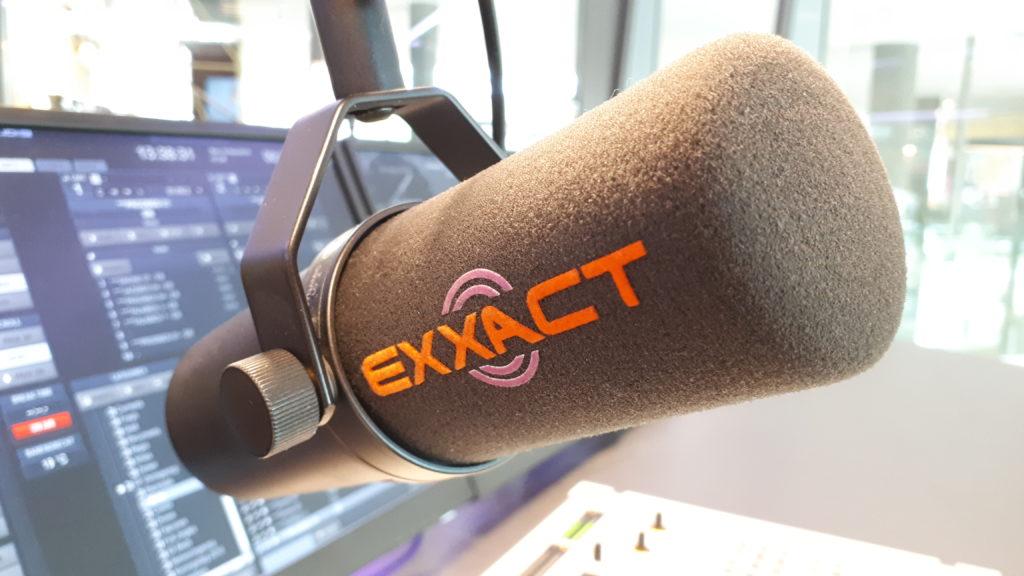 Microfoon in studio Exxact Barendrecht