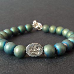 Handmade Crown Bracelet