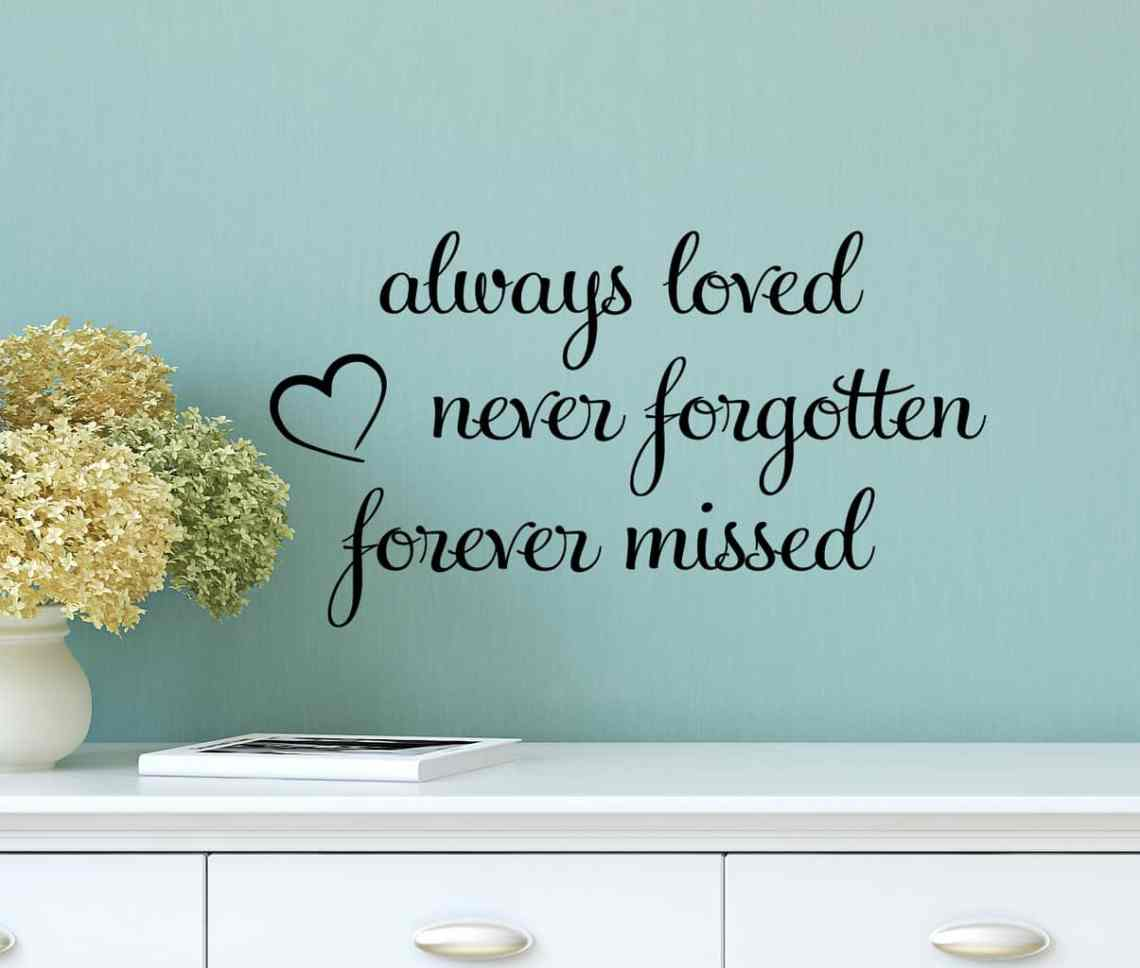 Download Always Loved Wall Decal Sticker by Express Yourself Decals