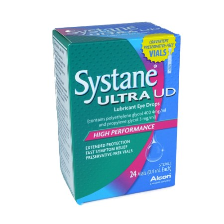Systane Ultra Lubricant Eye Drops Unit Dose
