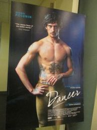 Dancer poster at the Film Society of Lincoln Center