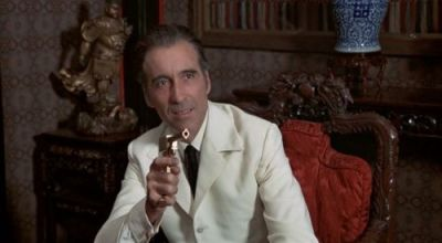 Christopher Lee was iconic as Scaramanga in The Man with the Golden Gun