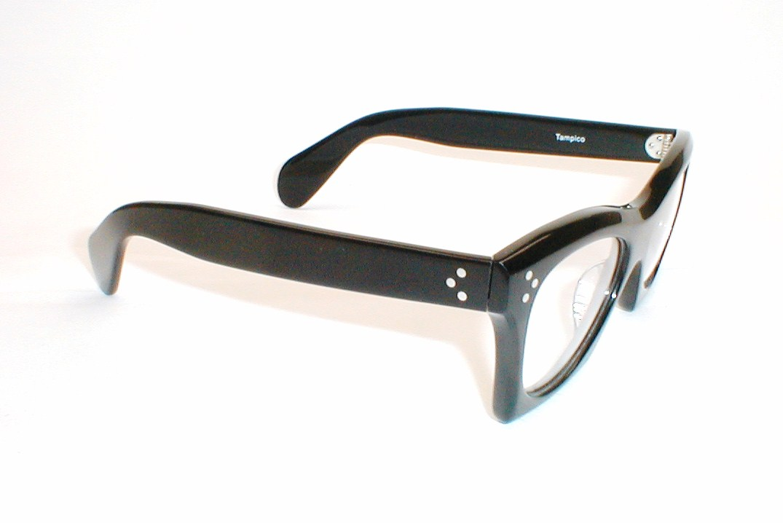 031476aeea Vintage Eyeglasses Frames Mens Gray Fade Horn Rim Glasses - Modern ...