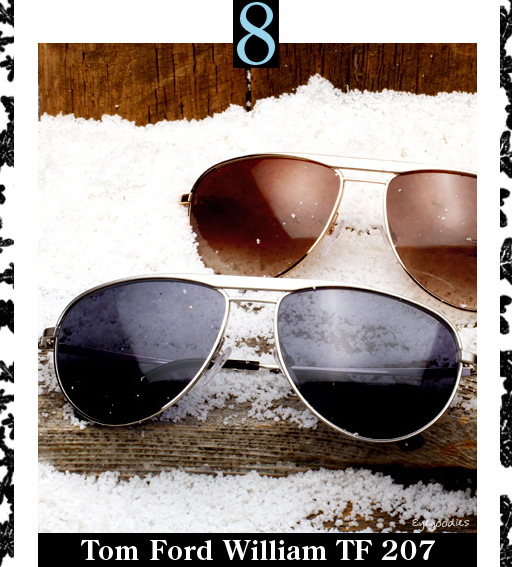 8. Tom Ford William Sunglasses