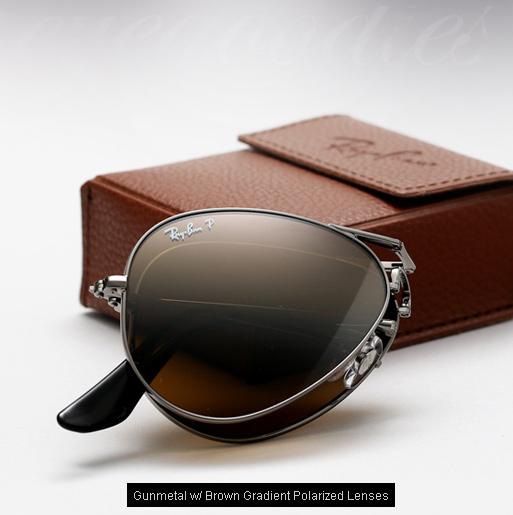 Ray Ban Folding Aviator Sunglasses RB 3479