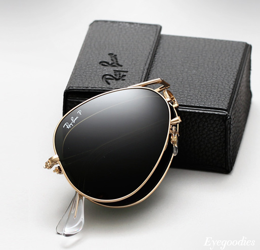 Ray Ban Folding Aviator Sunglasses