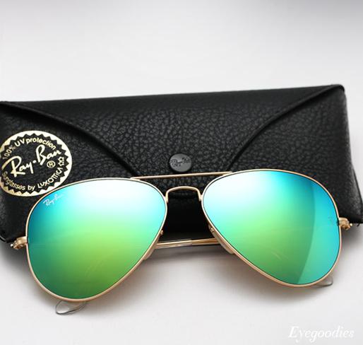 Ray Ban Aviator RB 3025 Colored Mirror sunglasses