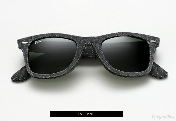 Ray Ban Denim Wayfarer RB 2140 sunglasses - Black