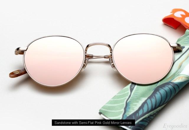 Garrett Leight Wilson M sunglasses - Sandstone