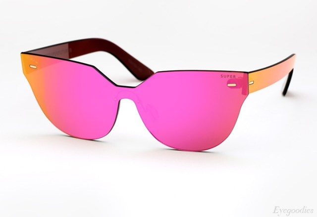 Super Zizza Tuttolente Pink sunglasses