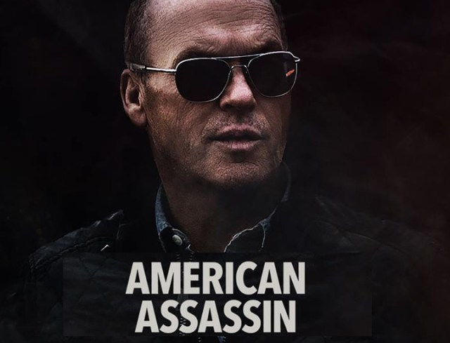 American Assassin Sunglasses - MIchael Keaton