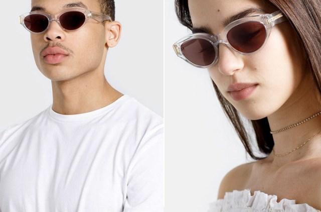 Super Drew Crystal Sunglasses