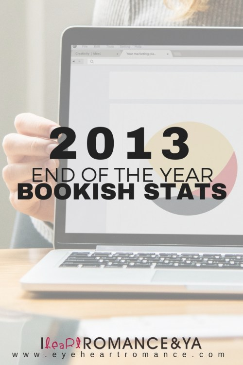 2013 End of the Year Bookish Stats