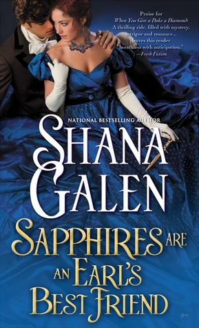 Sapphires are an Earl's Best Friend by Shana Galen | Book Review