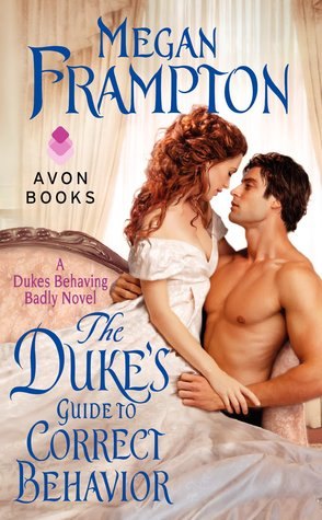 The Duke's Guide to Correct Behavior by Megan Frampton | Book Review + Giveaway