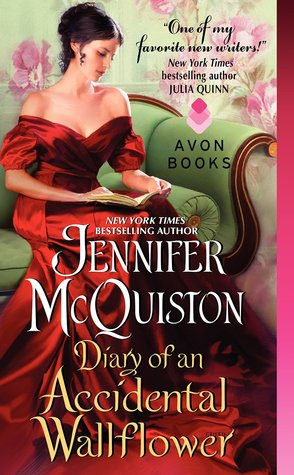 Diary of an Accidental Wallflower by Jennifer McQuiston | Book Review + Giveaway & Excerpt