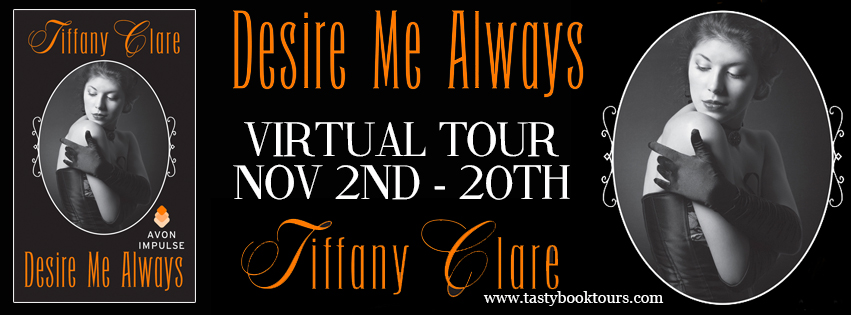 Desire Me Always by Tiffany Clare | Book Review + Giveaway