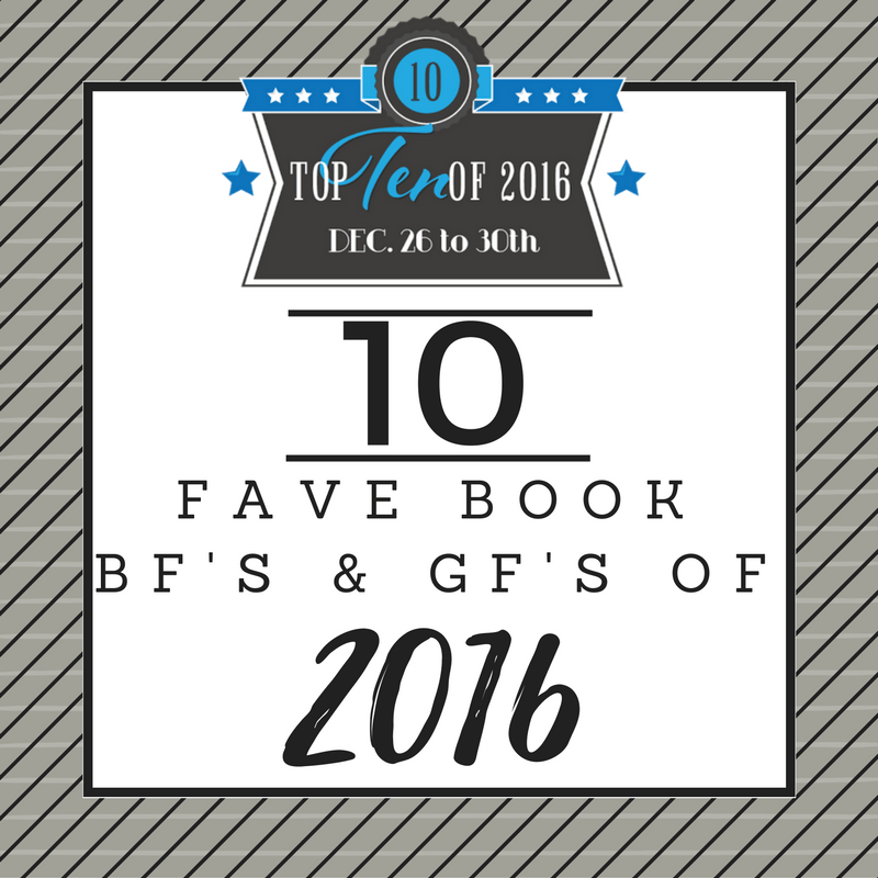 Favorite Book Boyfriends & Girlfriends of 2016