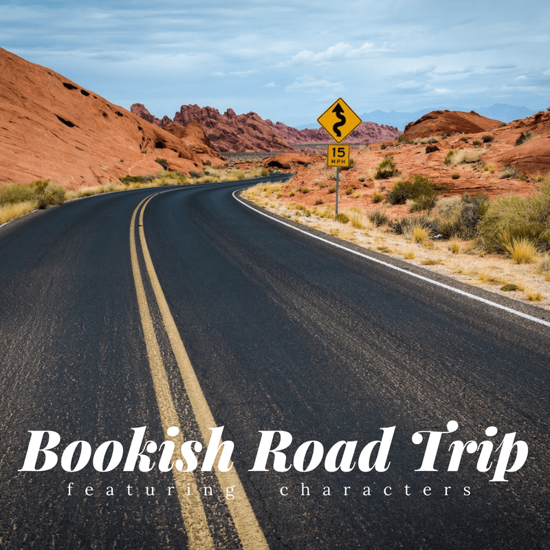 Love-a-thon: Mini-Challenge #8: Bookish Road Trip