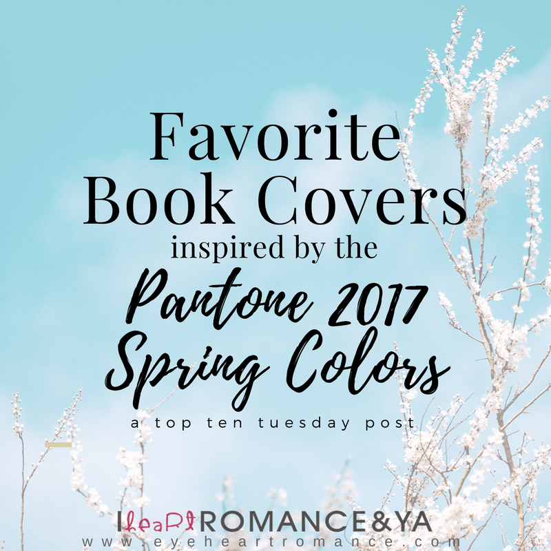 Favorite Book Covers Inspired by the Pantone 2017 Spring Colors