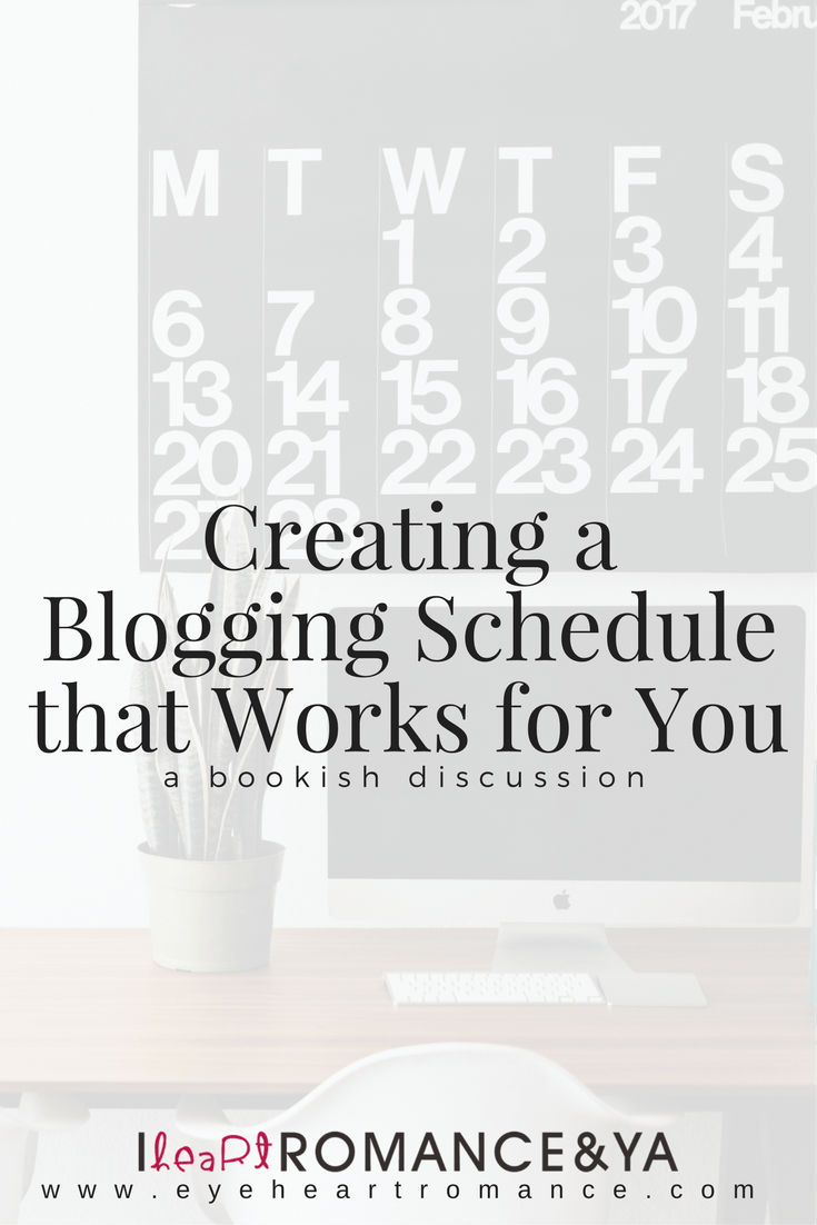 Creating a Blogging Schedule that Works for You