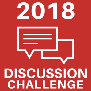 2018 Book Blog Discussion Challenge