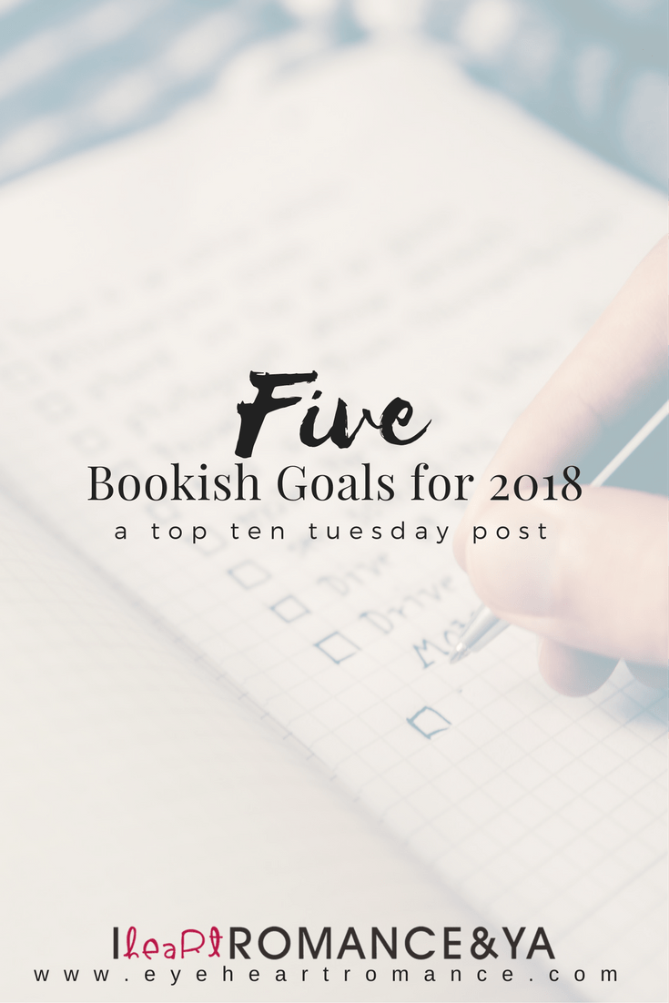 5 Bookish Goals for 2018