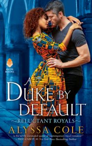 A Duke by Default by Alyssa Cole Cover