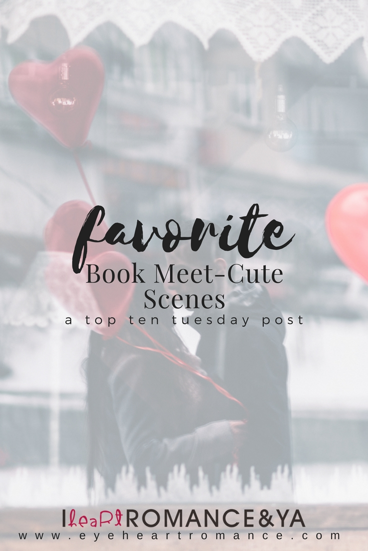 Favorite Book Meet-Cute Scenes