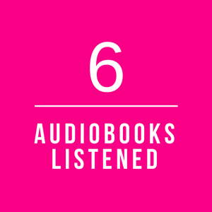 January Audiobooks Listened