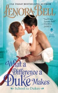 What a Difference a Duke Makes by Lenora Bell