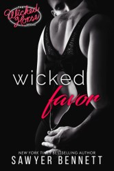 Wicked Favor by Sawyer Bennett Cover