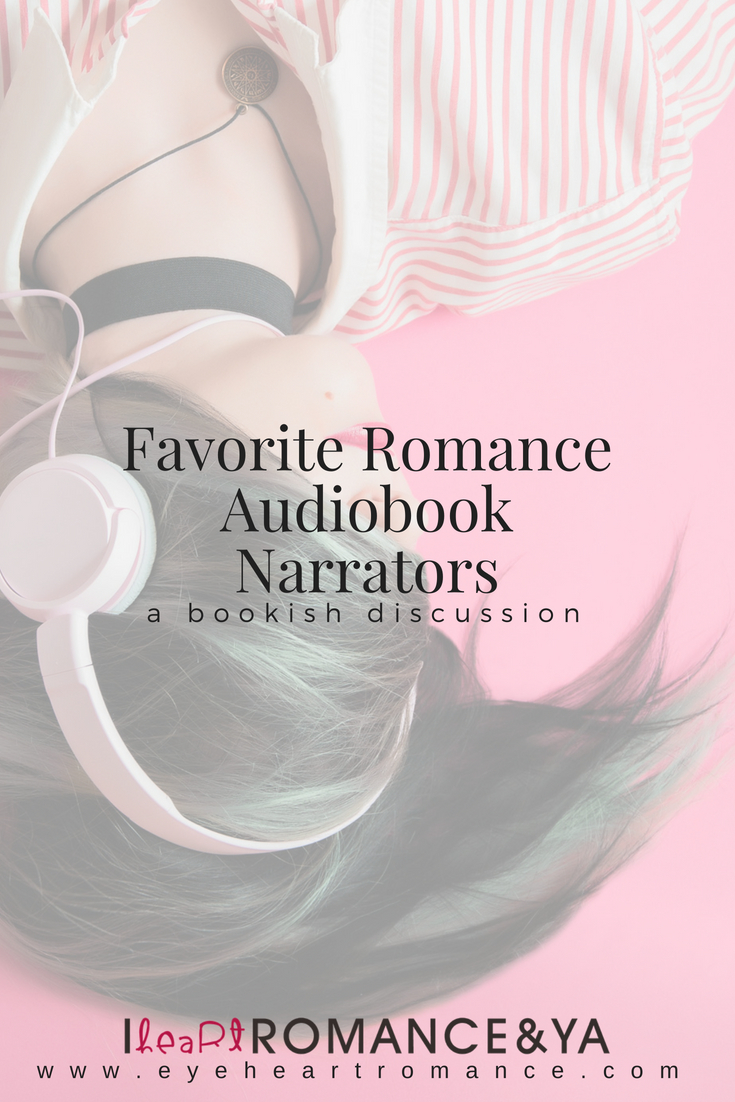 Favorite Romance Audiobook Narrators