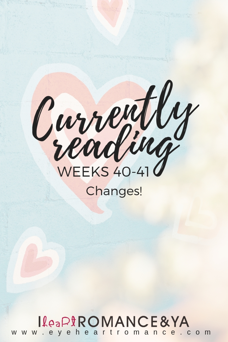 Currently Reading Weeks 40-41: Changes