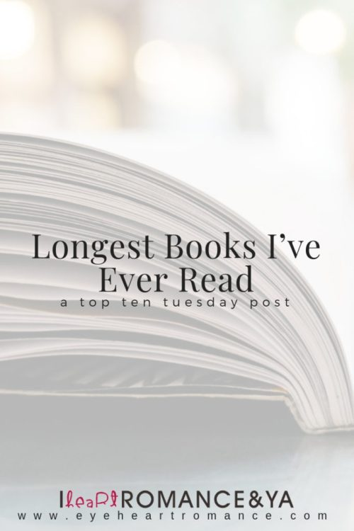 Longest Books I've Ever Read