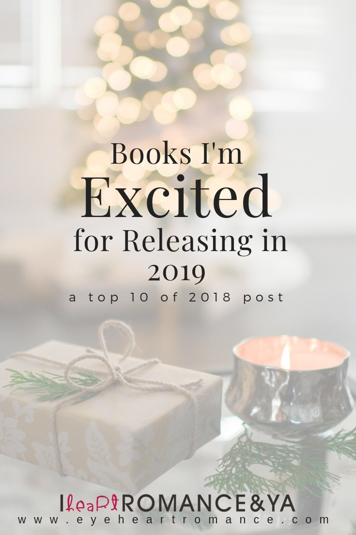 Books I'm Excited for Releasing in 2019