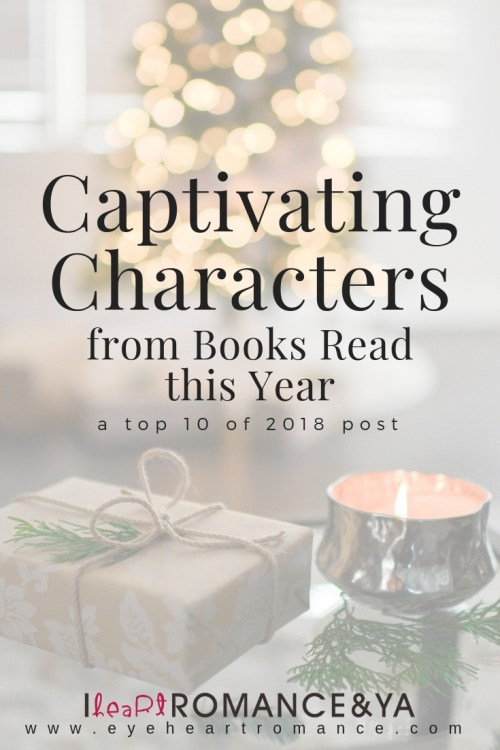 Captivating Characters fro Books Read this Year