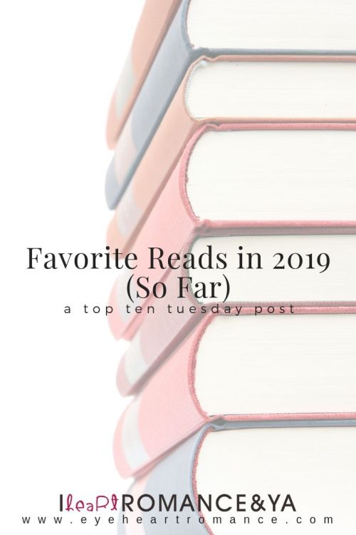 Favorite Reads in 2019 (So Far)