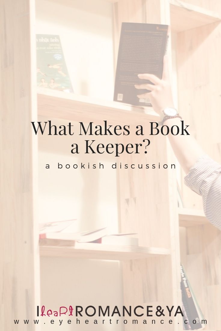 What Makes a Book a Keeper?