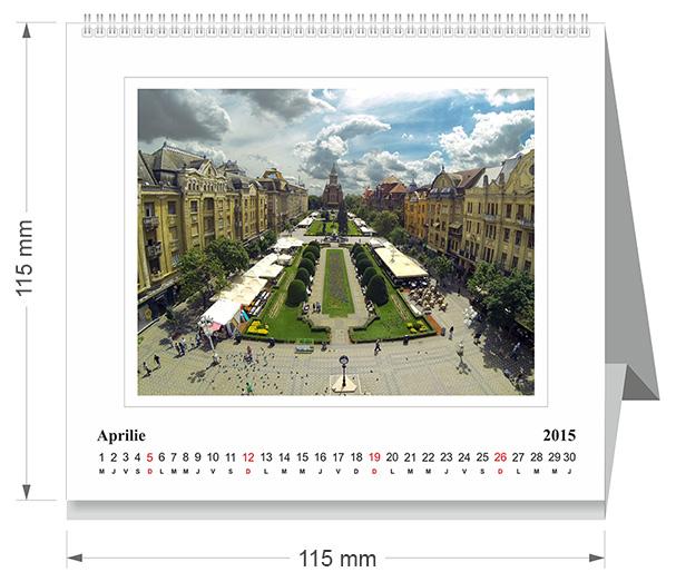 calendar de birou 2015