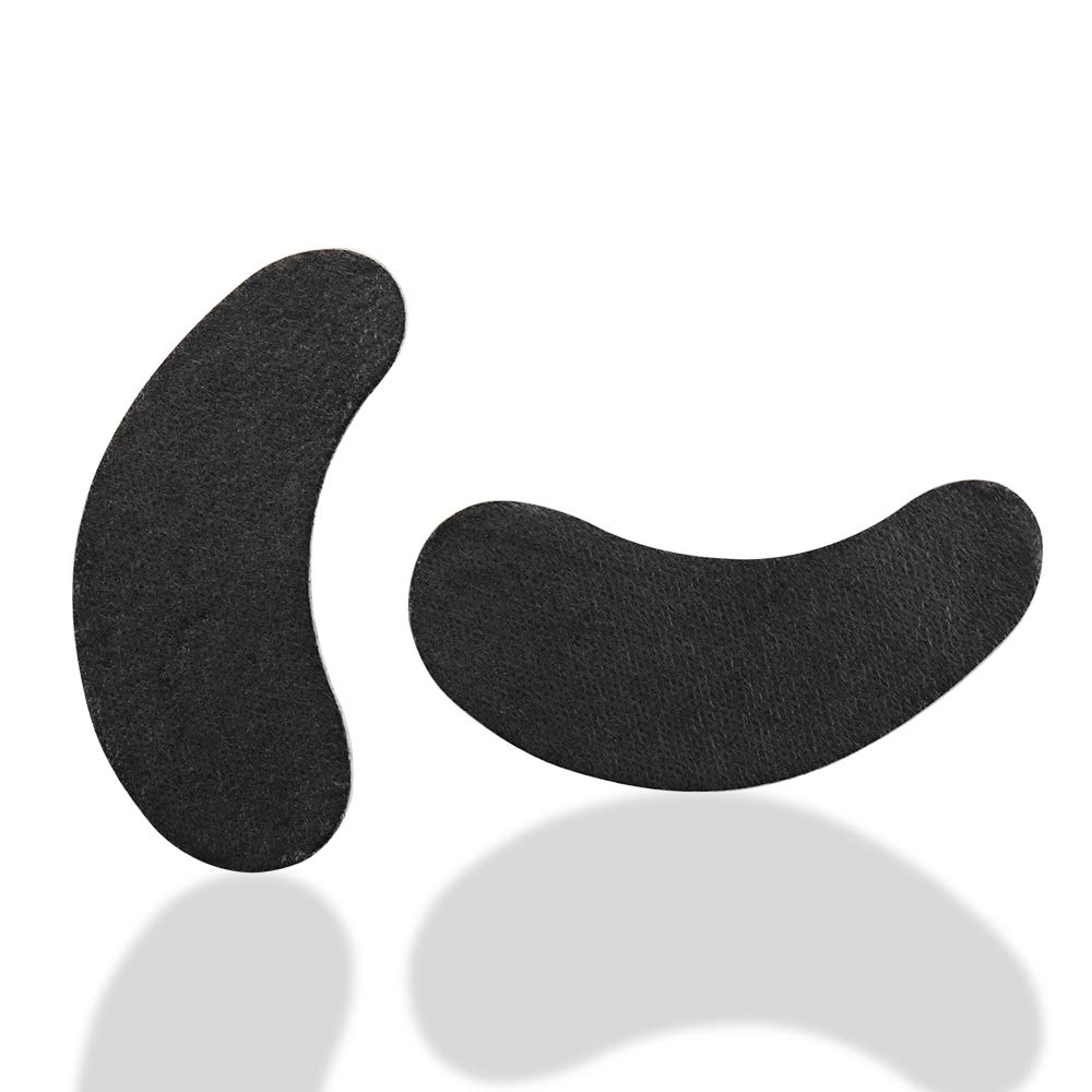 black gel pads for blond lashes