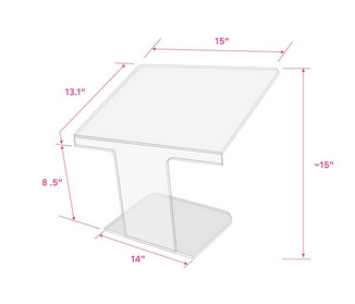 Back2Work Lash Tech Guard / Shield with Stand (VAT Exempt)