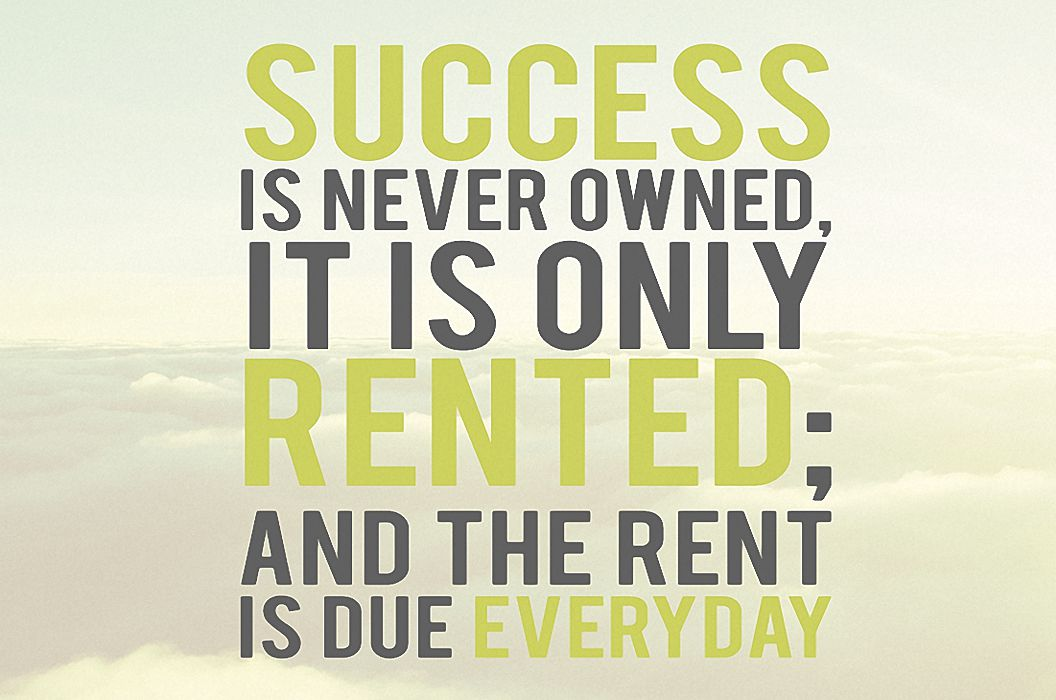 Never Own Success