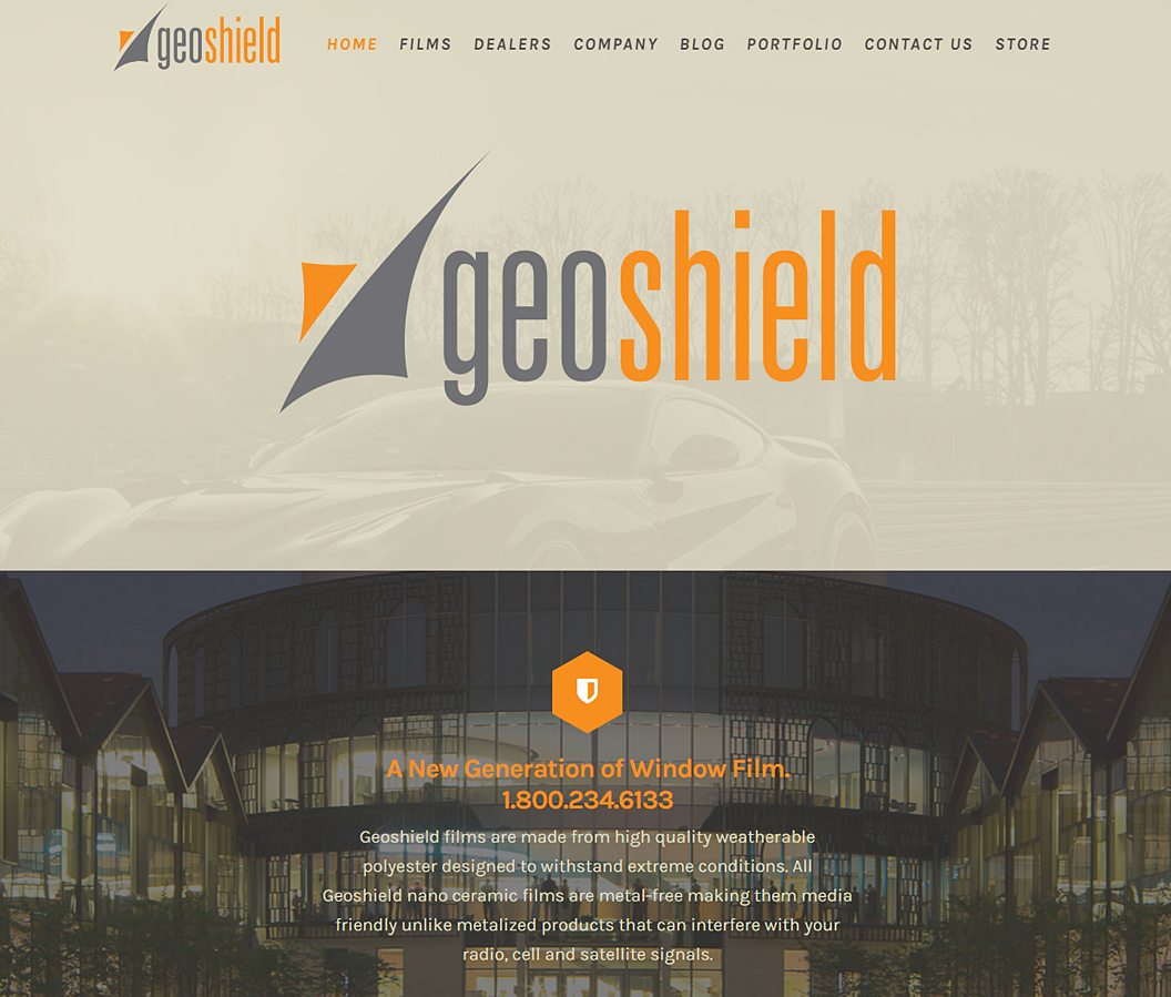 Geoshield Window Film Website