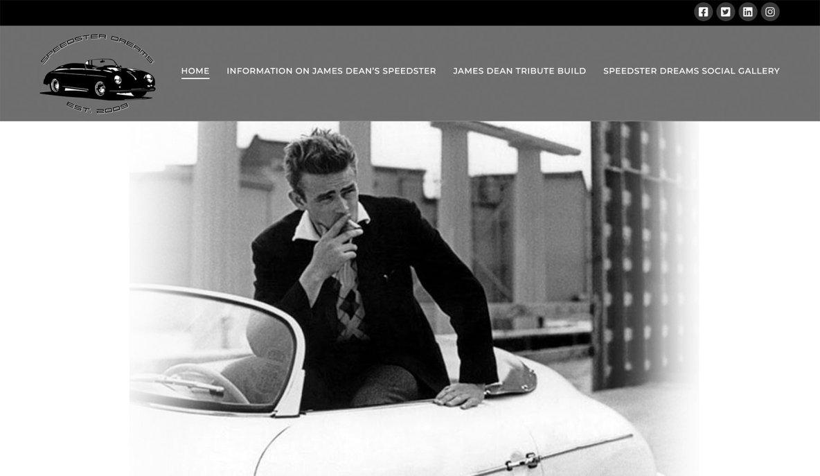 Speedster Dreams - Website Design & Development by Eye Magnet Mgmt